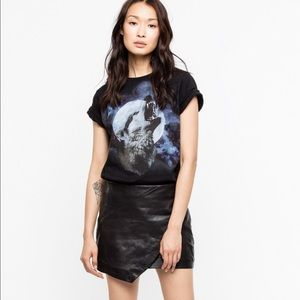 Zadig & Voltaire T-Shirt Bella Wolf Show S A6